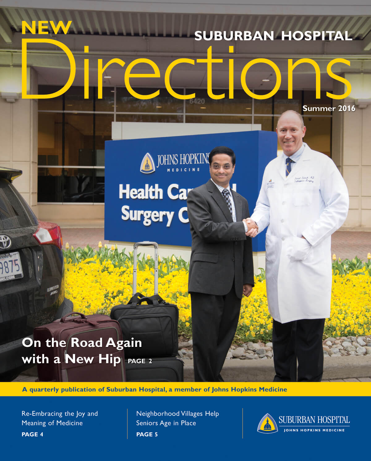Cover of Summer 2016 New Directions