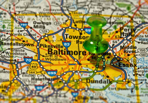 baltimore map