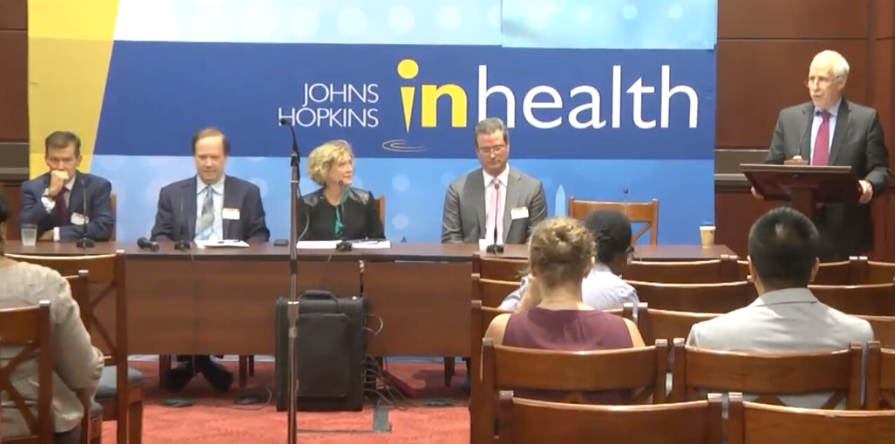 Panel discussion on the value in health care.