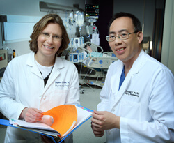 With ERAS, Christopher Wu and Elizabeth Wick hope to decrease hospital stays and improve patients' experiences.