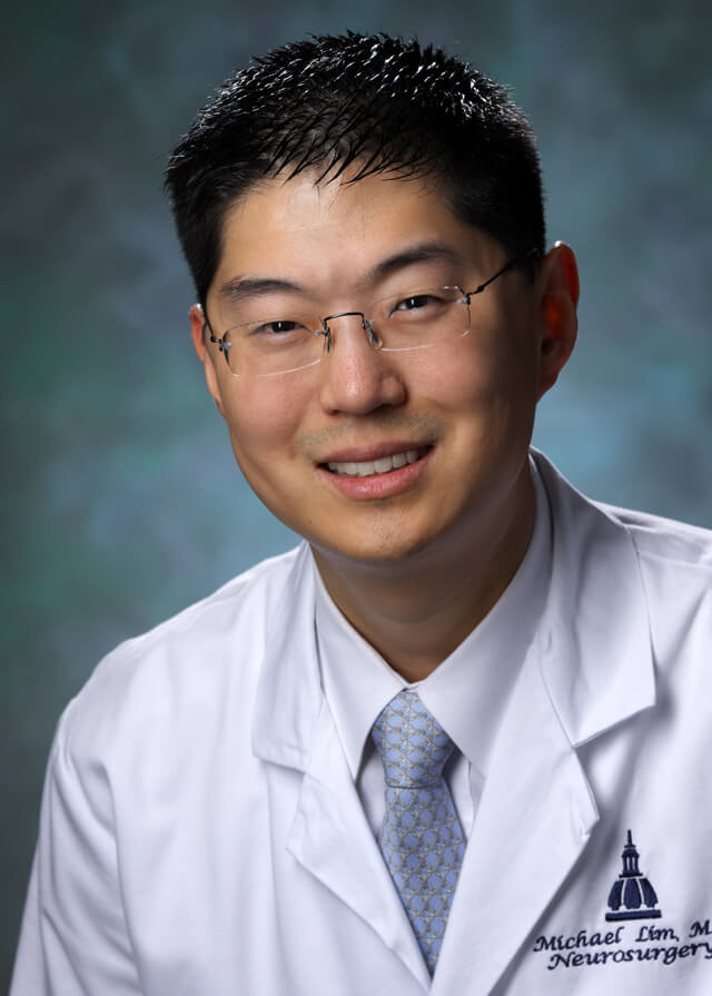 Neurosurgeon Michael Lim