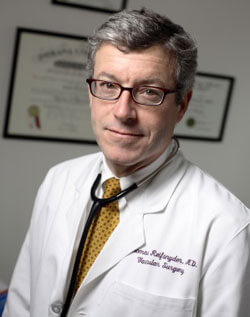 Vascular surgeon Thomas Reifsnyder