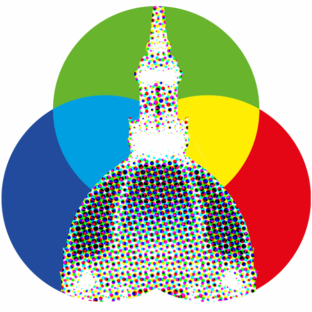 multi-colored dome