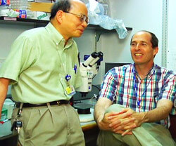 Jeremy Nathans, M.D., Ph.D. and King-Wai Yau, Ph.D.
