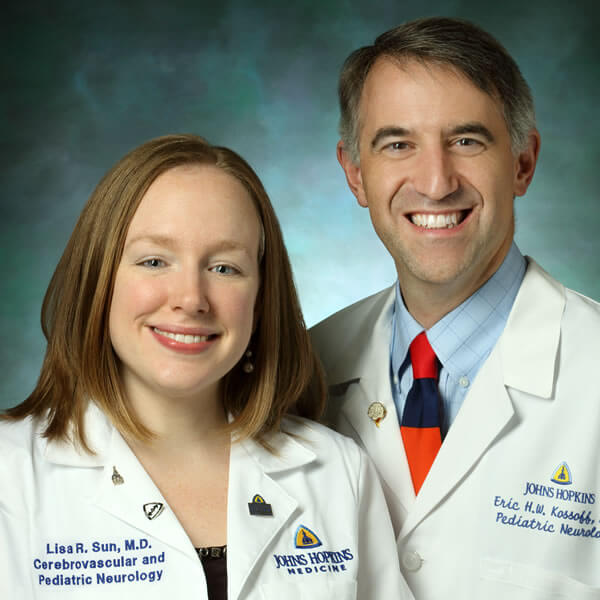 Drs. Lisa Sun and Eric Kossoff