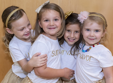 A photo shows Chloe, Lauren, McKinley and Avalynn.