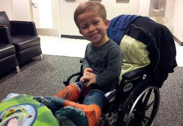 Chael received treatment at Johns Hopkins for achondroplasia
