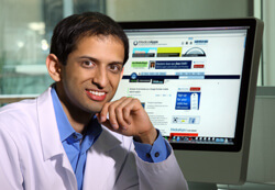 Satish Misra's medical apps website helps health care providers sift through voluminous information.