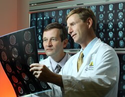 Close relationships between basic scientists and clinical researchers, such as Gregory Riggins and Jon Weingart, could lead to effective new treatments for glioblastoma.