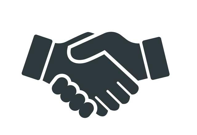 physician referral handshake