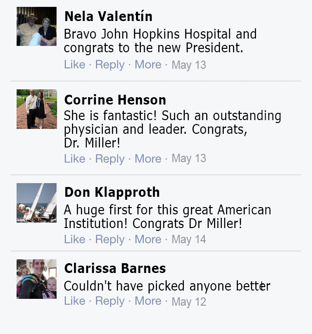 social comments on miller as president
