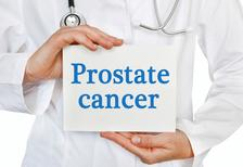sign that says prostate cancer