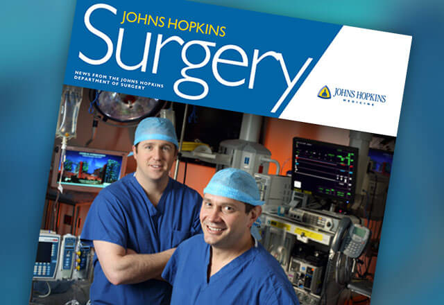 More modern surgical innovations at Johns Hopkins