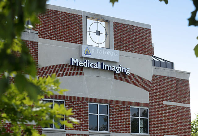 Exterior of the Medical Imaging Building