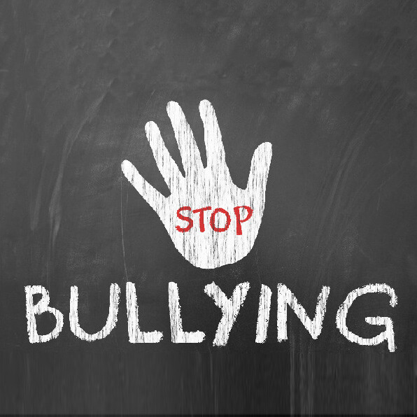 Stop Bullying graphic.