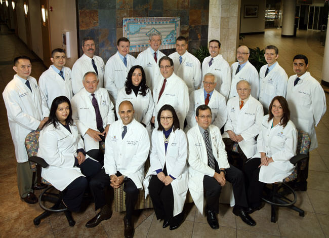 surgical specialties group photos
