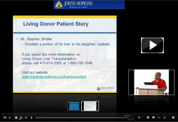 Testimonial from a Living Donor