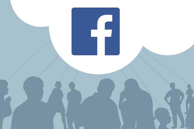 Facebook illustrated graphic