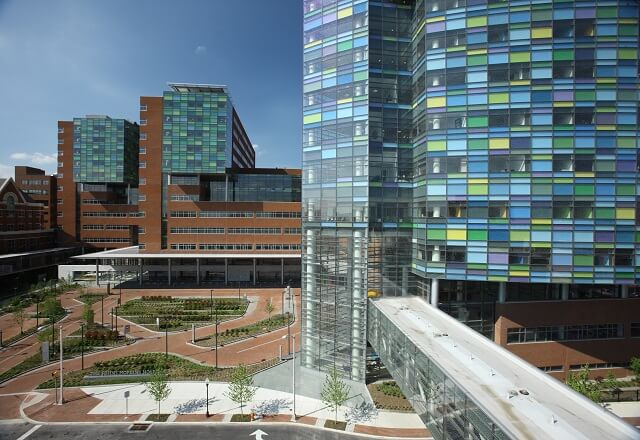 Kimmel Cancer Center-Division of Pediatric Oncology building