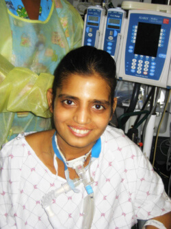 Instead of the three weeks she had expected to be in the hospital, Antara Desai stayed at Hopkins for four months while she was weaned off the ventilator and pushed herself in physical therapy.