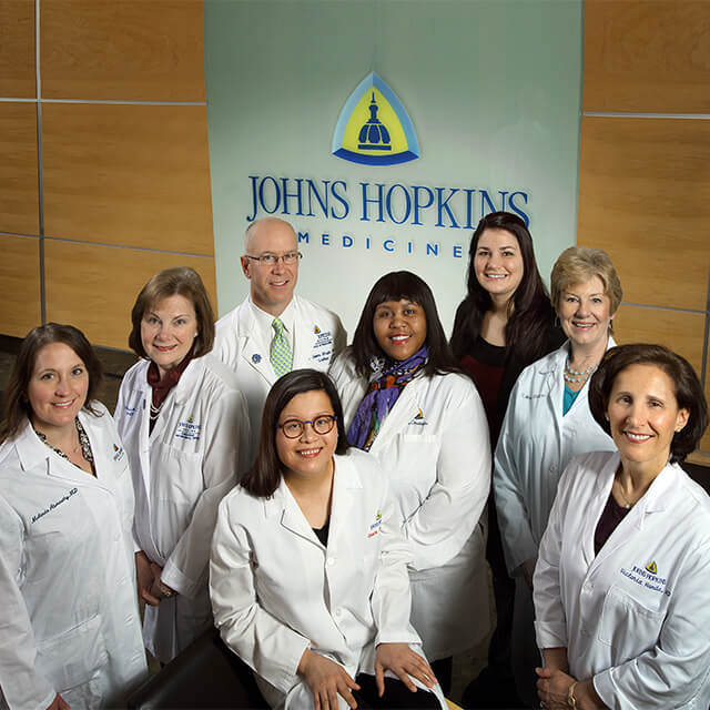 Women's Pelvic Health Team at Johns Hopkins