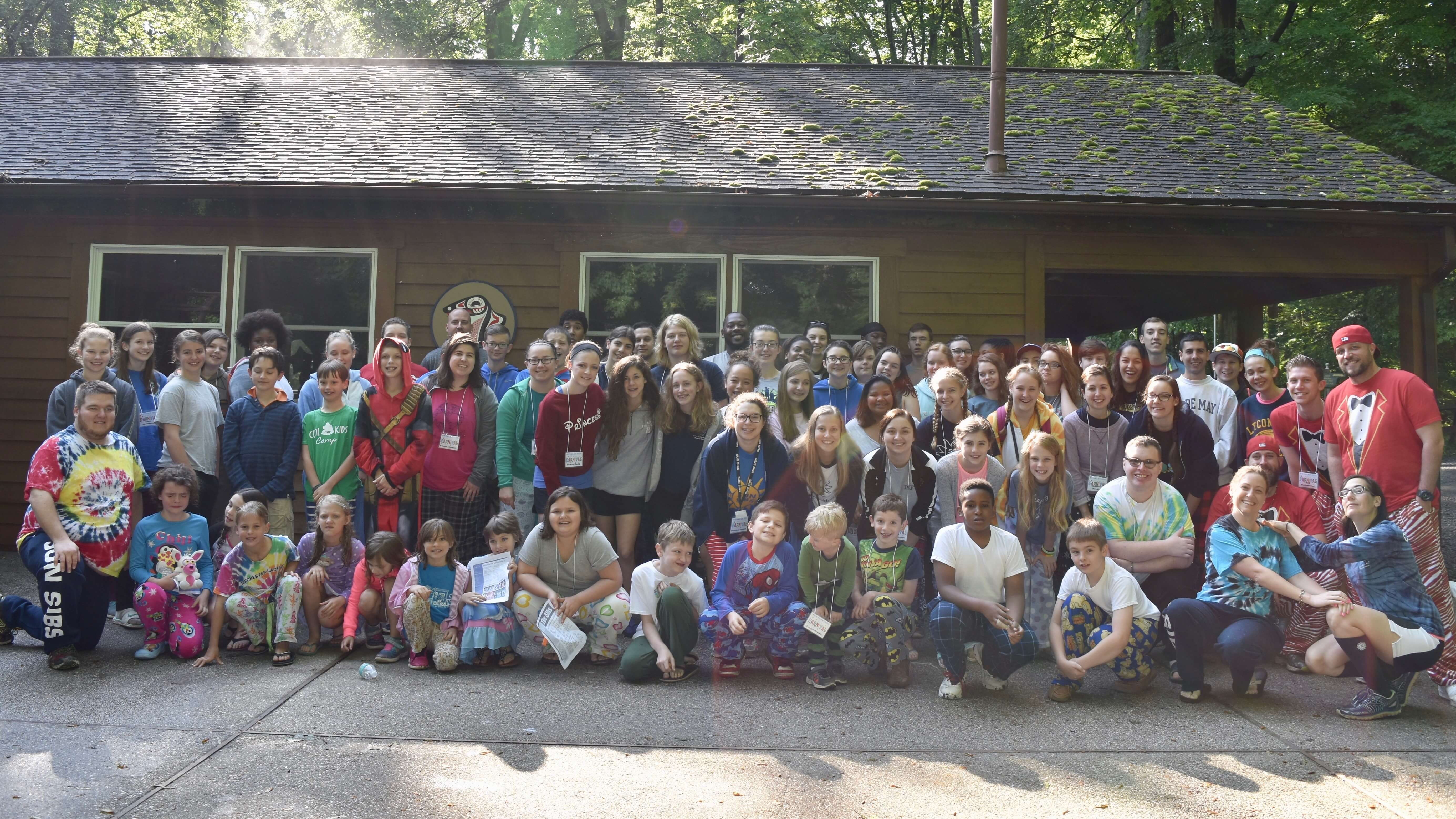camp group picture