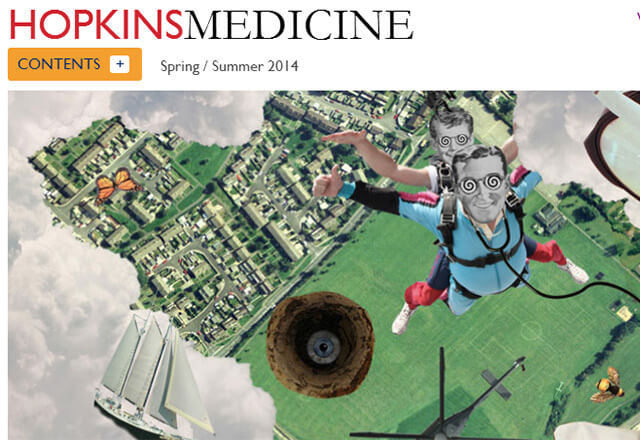 Hopkins Medicine magazine cover