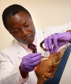 When he discusses facial surgery with patients, Boahene finds their appearance is a top concern.