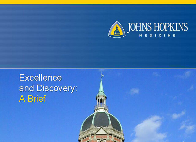 Cover of the Excellence and Discovery brief PDF