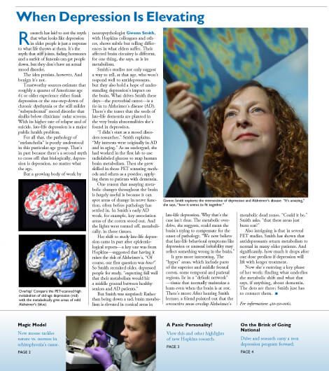 Brain Wise cover Fall 09