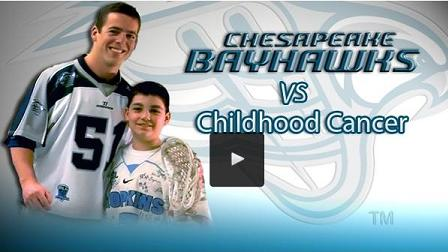 Bayhawks take on Childhood Cancer
