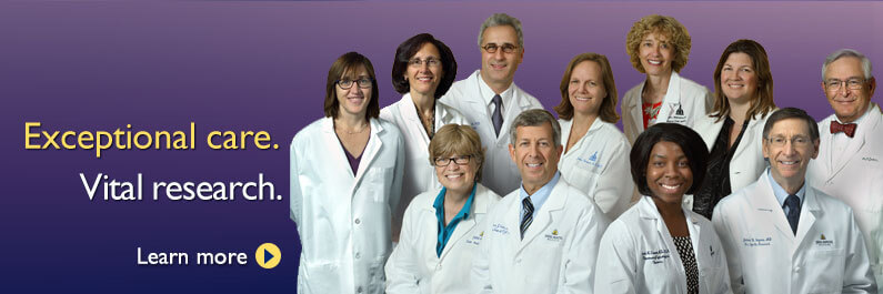 group photo of the Department of Gynecology and Obstetrics division directors
