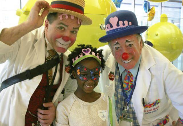 clowns with patient