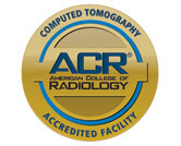 American College of Radiology Gold Seal of Accreditation for Computed Tomography
