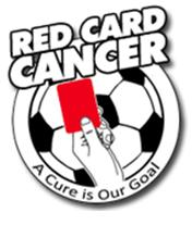 red card cancer logo