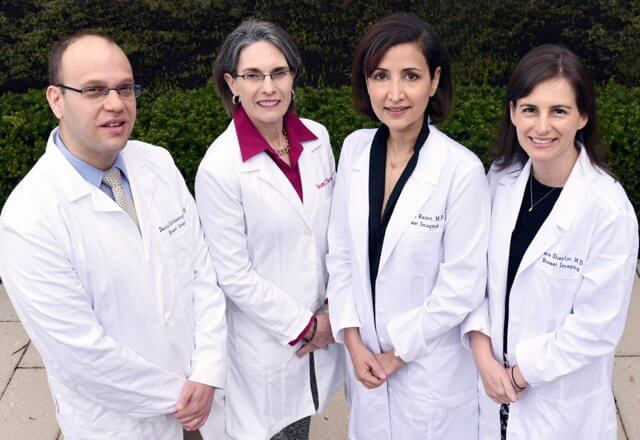 The breast imaging team