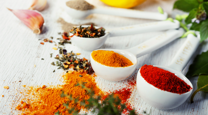 5 Spices with Healthy Benefits