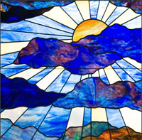 Stained Glass Window Pastoral Care