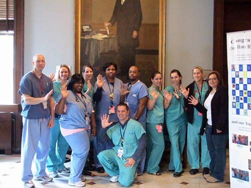Respiratory Care Team at Johns Hopkins