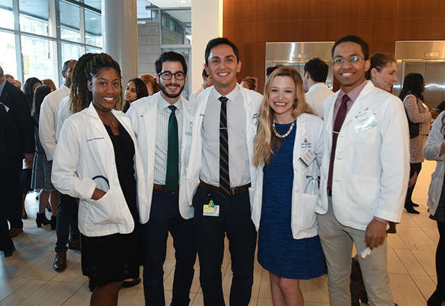 group of medical students