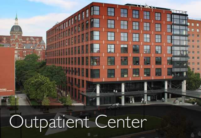 An image of the Johns Hopkins Outpatient Center