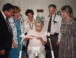 Pulmonary Rehab Ribbon Cutting