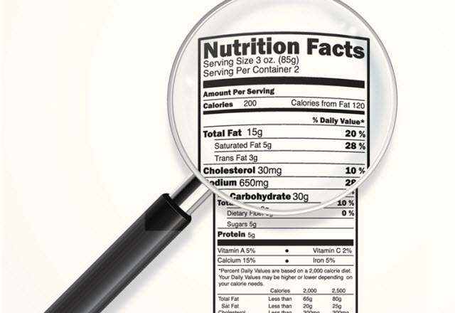how to read food labels for a heart healthy diet