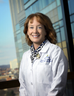 Surgeon-in-Chief Julie Freischlag specializes in treating thoracic outlet syndrome.