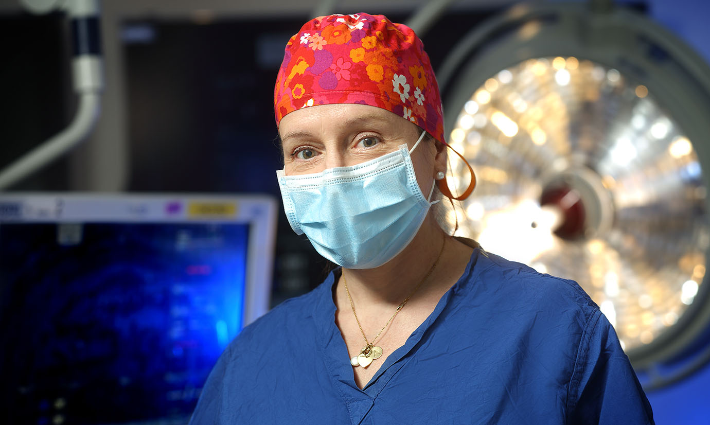 Pediatric and congenital cardiac surgeon Danielle Gottlieb-Sen has expertise in the genetics and prenatal diagnosis of CHD. She will direct pediatric cardiac research for the heart center.