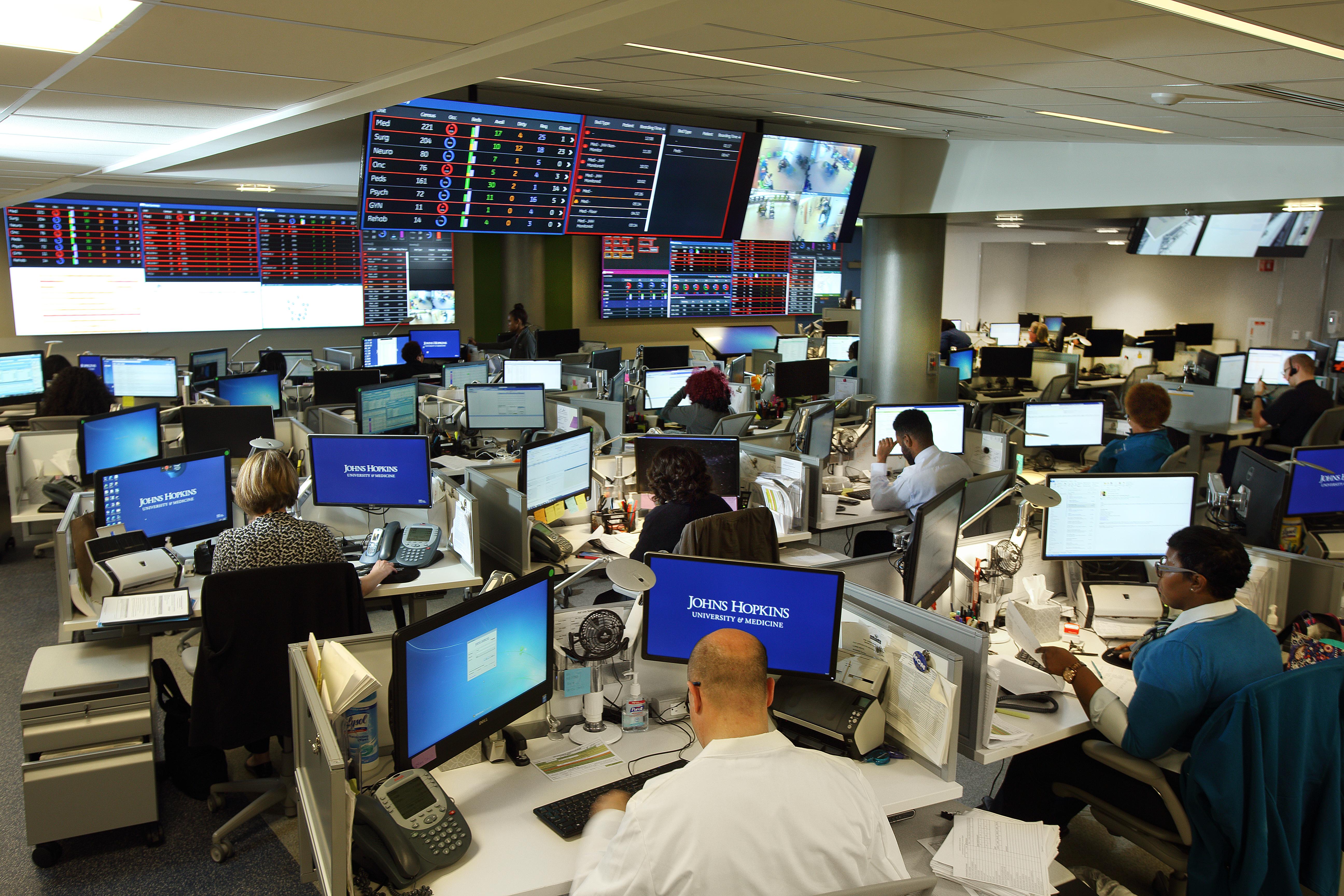 The Johns Hopkins Hospital Launches Capacity Command ...