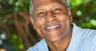 older African-American male smiling