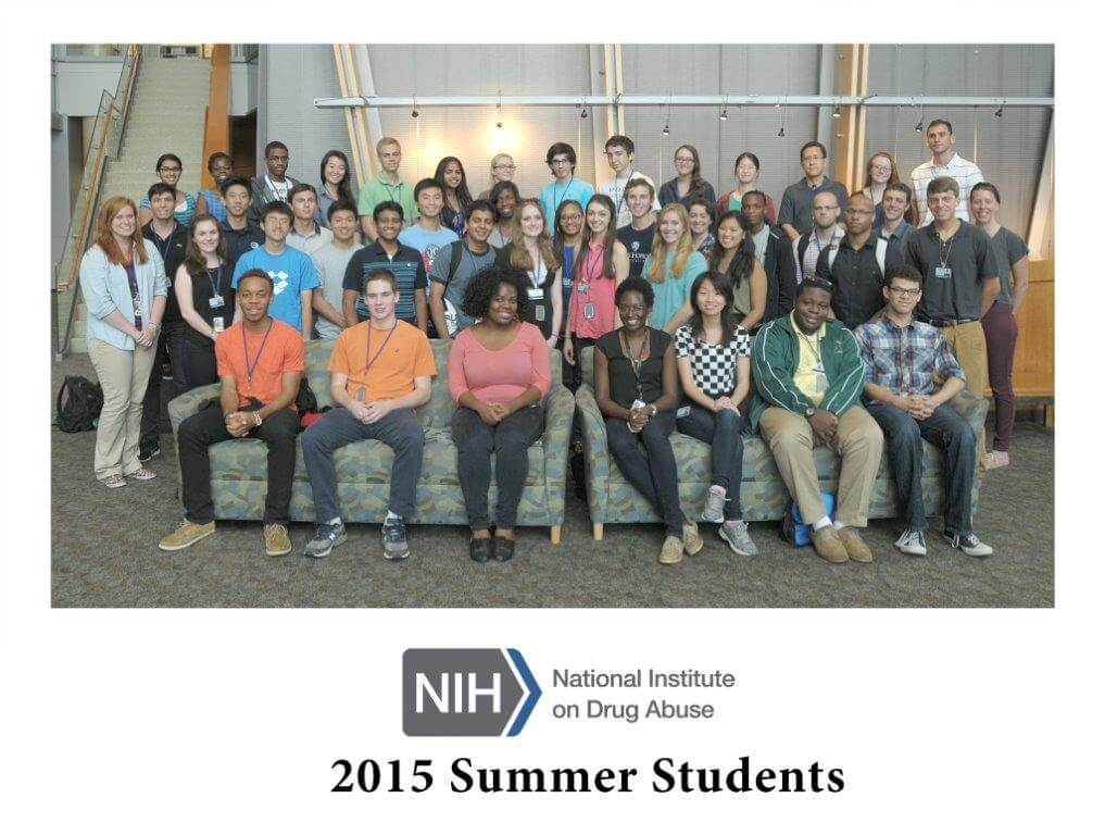 NIDA 2015 Summer Students group photo