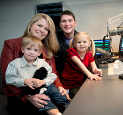 Mix 106.5 Maria Dennis and Reagan Warfield Bridget Dively and Elijah Sponseller