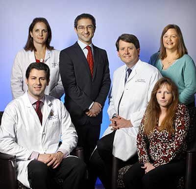 the craniofacial surgery team